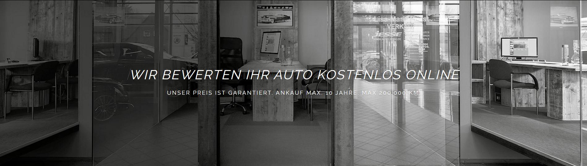 Wir kaufen Dein Auto vor Ort